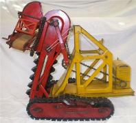 buddy l trench digger, buddy l trencher for sale, buddy l,  buddy ll toys,buddy l trencher,buddy l dump truck,toy appraisals,kingsbury toys,trencher, antique buddy l trencher display, buddy l trucks,antique buddy l trucks,antique buddy l toys,antique buddy l car,buddy l trains,buddy l oil truck,steelcraft toy truck,antique toys, double red truck trencher, toy fire truck